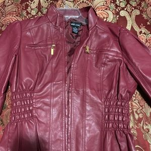 Wet Seal faux leather jacket